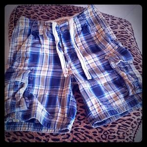 ABERCROMBIE shorts checkered blue 30